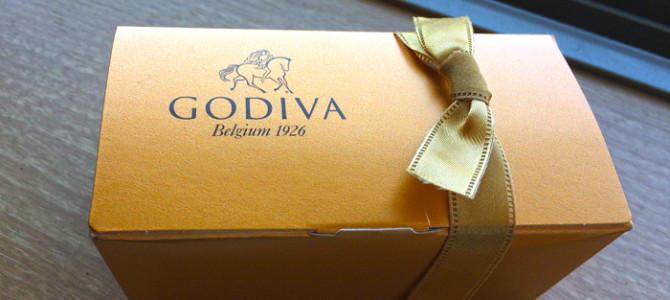 ゴディバのチョコレート&婚礼家具の断捨離終了。